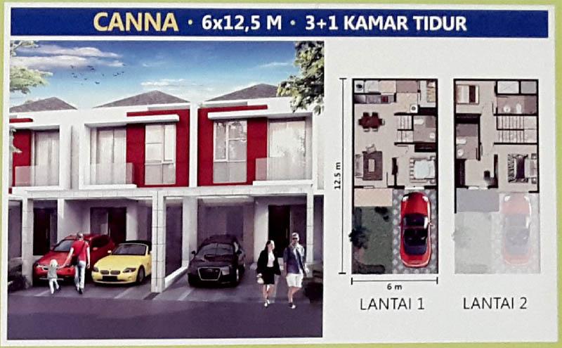 Tipe Canna @ PIK 2 Jakarta