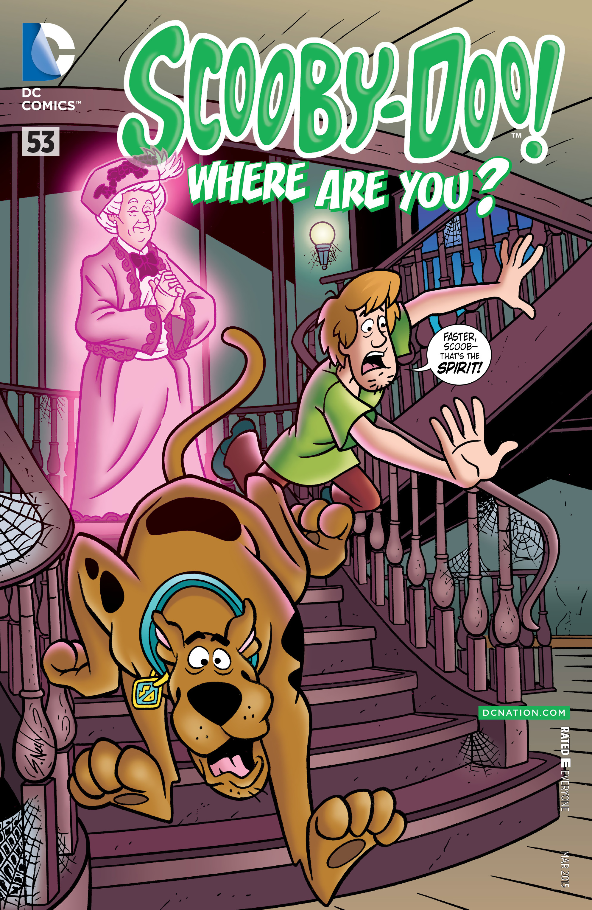 Read online Scooby-Doo: Where Are You? comic -  Issue #53 - 1