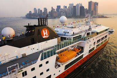 MS Fram Arriving in New York City sailing to New England, Canada, Iceland, Arctic Antarctic - Image Copyright Hurtigruten