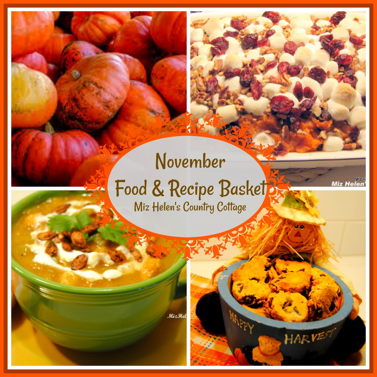 November Food & Recipe Basket