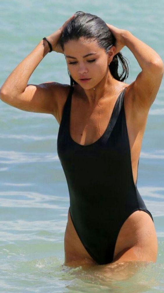 In a bikini selena gomez