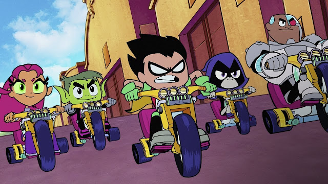 Teen Titans Go To The Movies: DVD Review