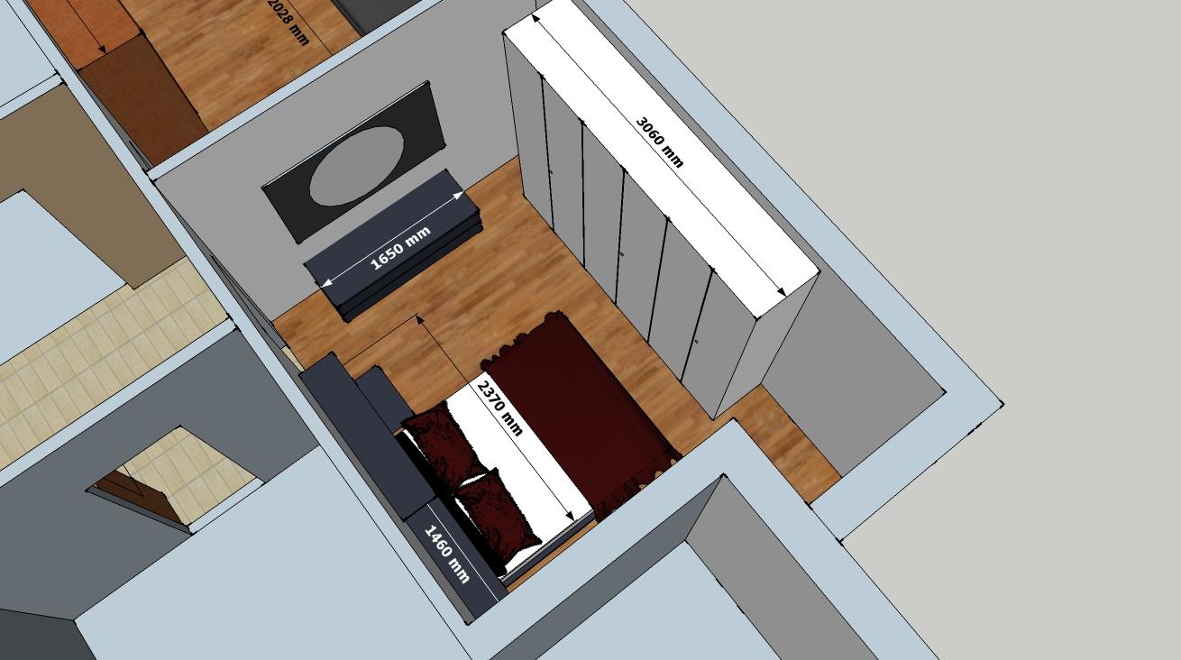 Architettocris for Mensola sopra letto