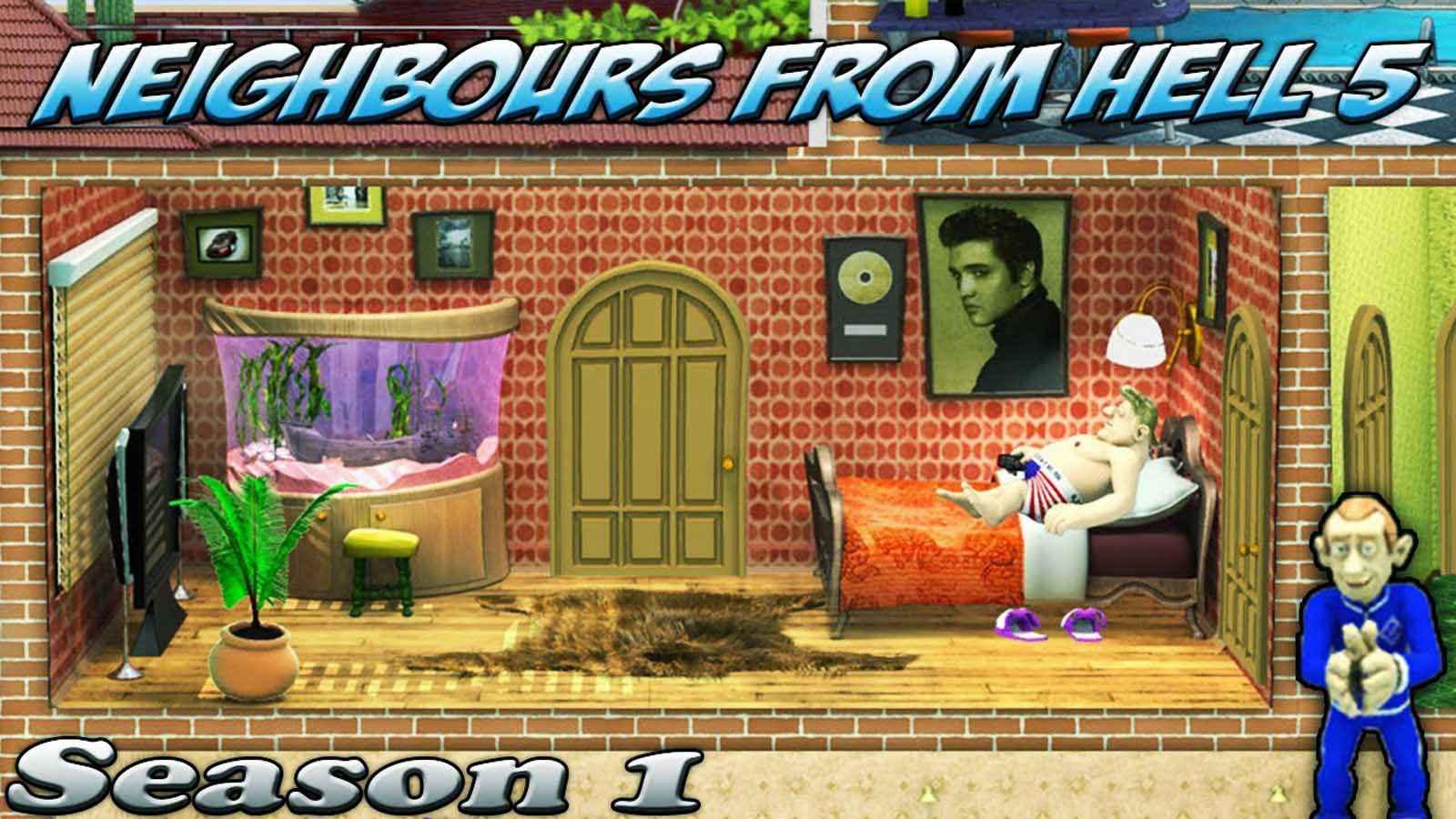 تحميل لعبة Neighbor From Hell 5 مضغوطة برابط واحد مباشر كاملة مجانا