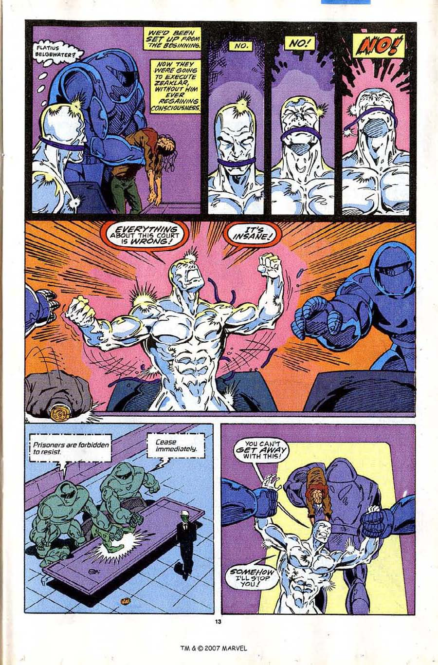 Read online Silver Surfer (1987) comic -  Issue #43 - 15
