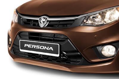 New 2016 Proton Persona front headlight image