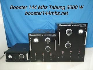 Booster 144 Mhz Tabung 3000 W Tinggal Colok Listrik