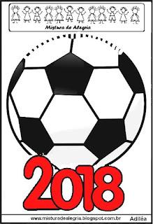 Atividade interativa sobre a copa mundial 2018