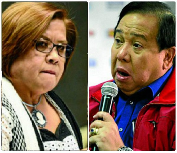 Gordon Vs. De Lima On Combining Death Penalty Issue With EJK Hearings: 'You Cannot Control It The Way You Controlled It The Last Time.'