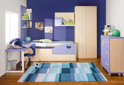 chambres d'enfants colorés