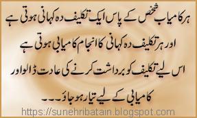 khubsoorat urdu aqwale zareen, new aqwal-e-zareen, achi batein