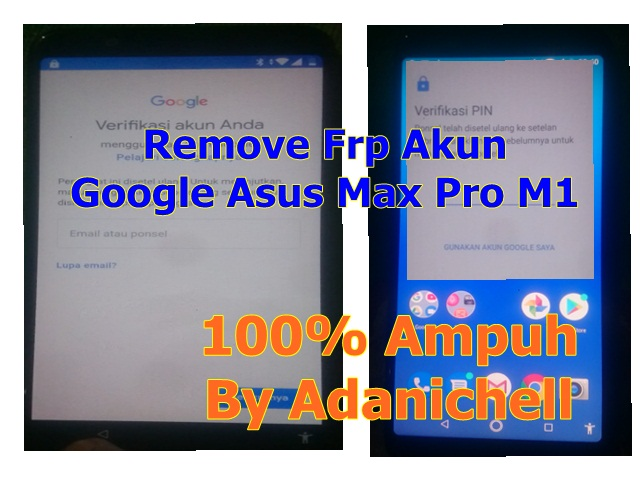 Remove Frp Akun Google Asus Max Pro M1