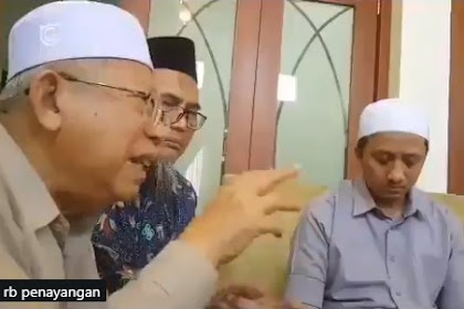 Viral Video Ma'ruf Amin Sebut 'Ahok Sumber Konflik, Harus Dihabisi' Ini Penjelasan Kyai Ma'ruf