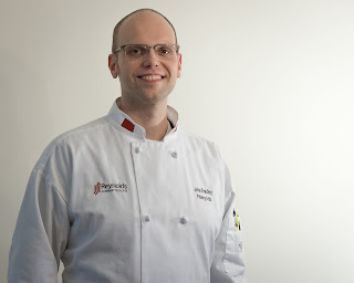 John Bradly in Reynolds Cooking Uniform