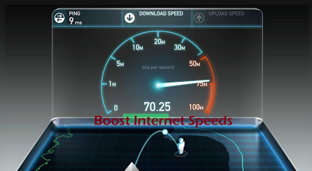 Boost Internet Speeds