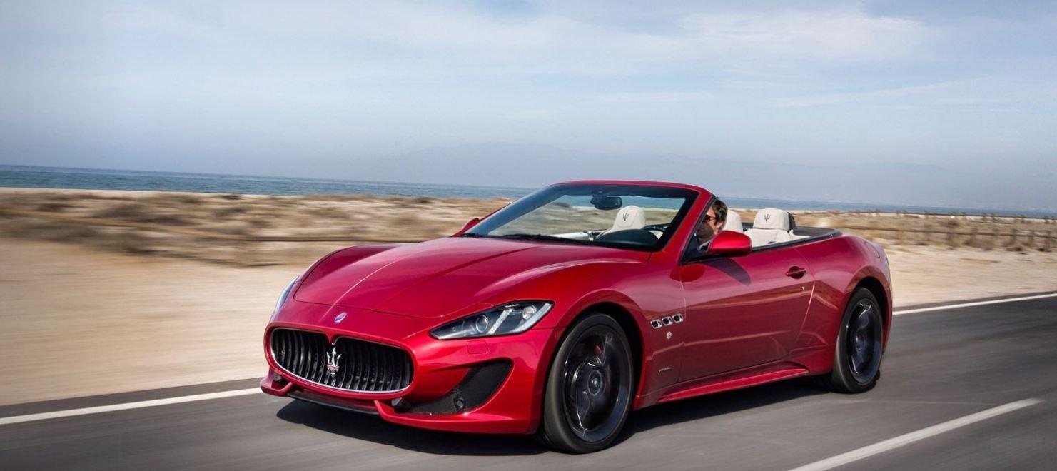 Maserati GranCabrio | Dimensioni - Bagagliaio - Peso | Tutte le Misure