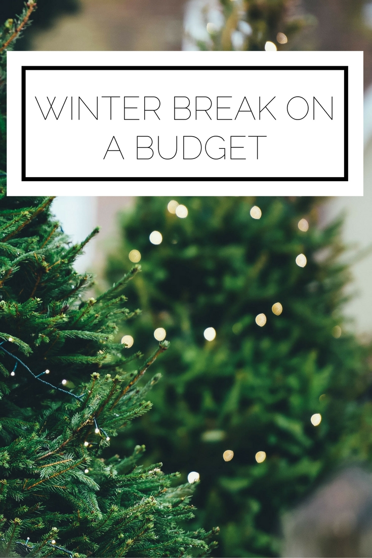 Click to read now or pin to save for later! Here are some ideas for how to have a great winter break, while staying mindful of your budget