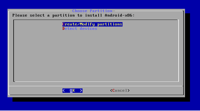 partition creation
