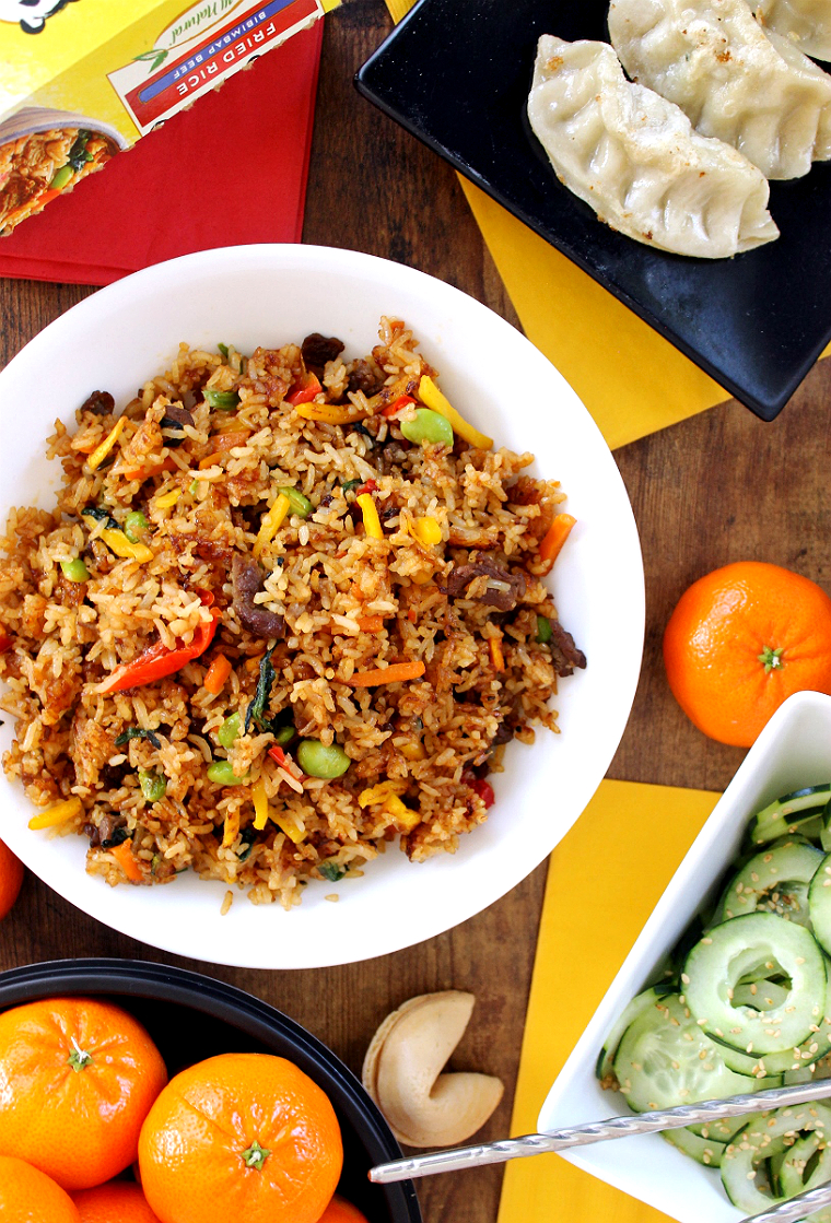 Bring authentic Asian flavors home with 5 unique regional inspired fried rice recipes from #LingLingAsianFood. #IC #LL #AD