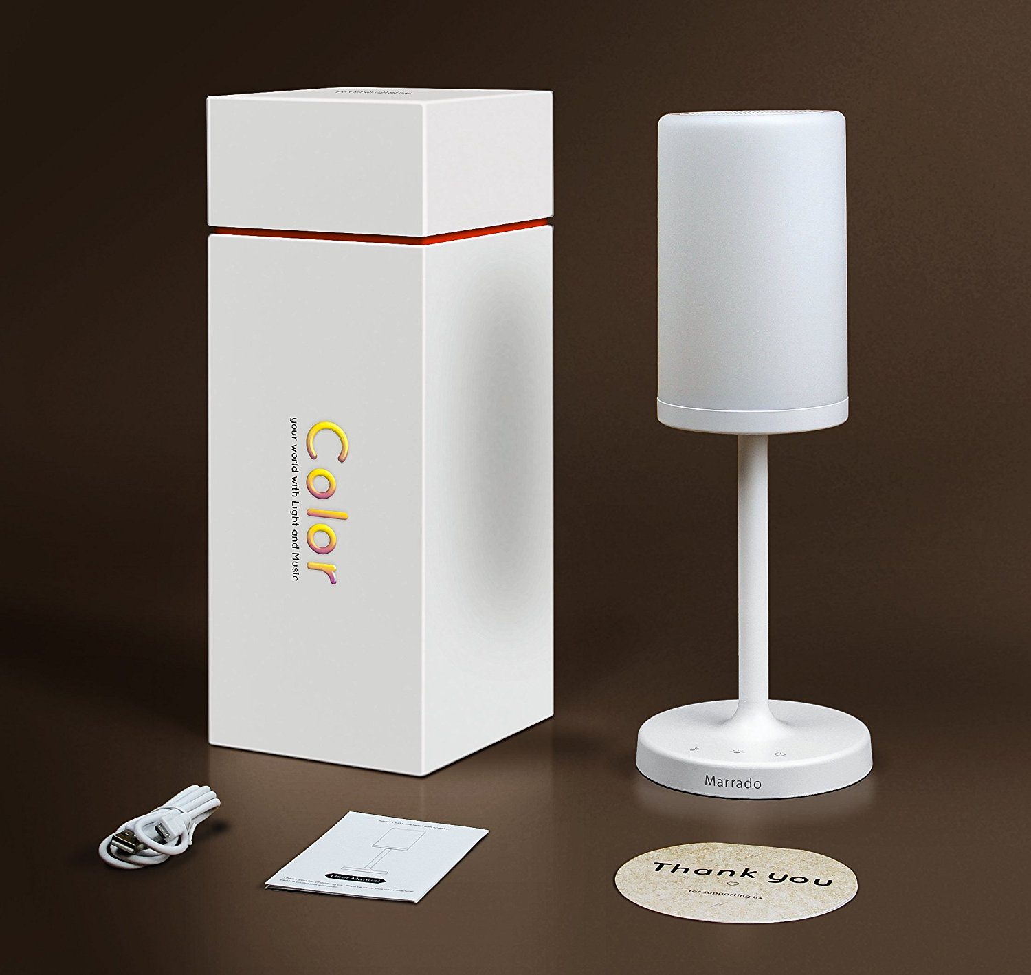 Marrado Table Lamp Bluetooth Speaker