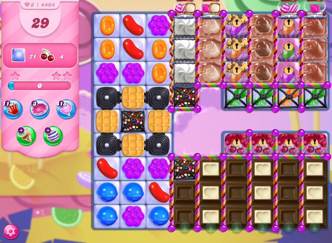 Candy Crush Saga level 4464
