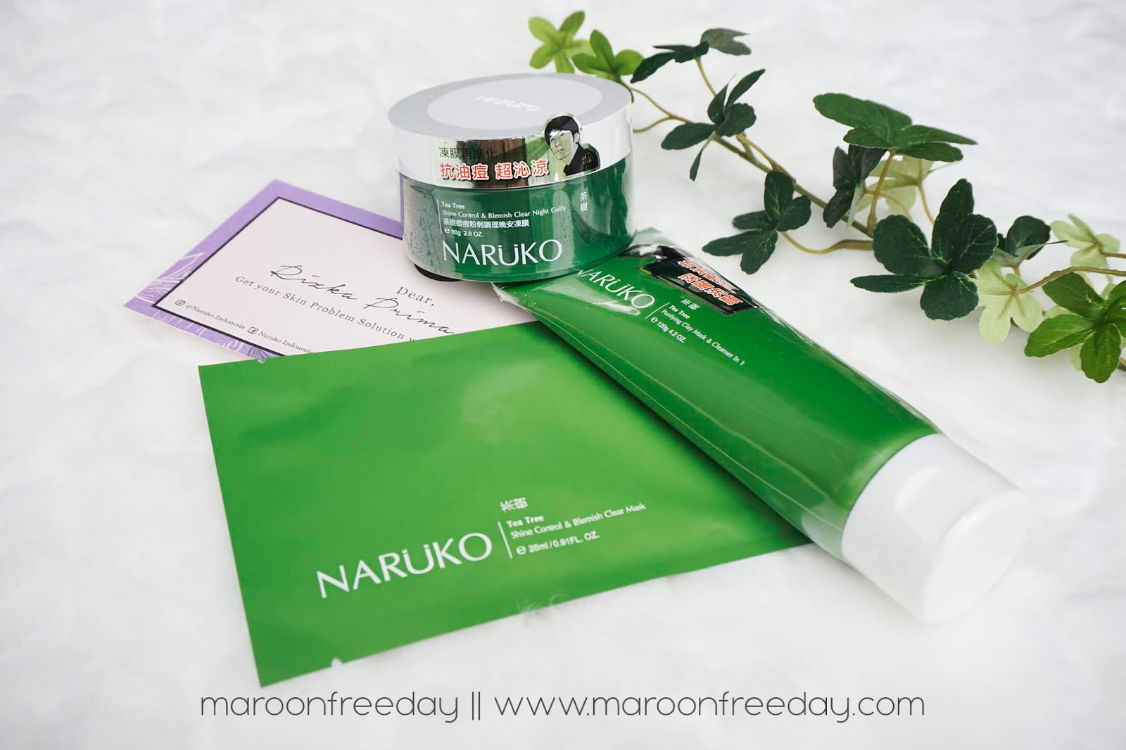 Naruko Tea Tree Series