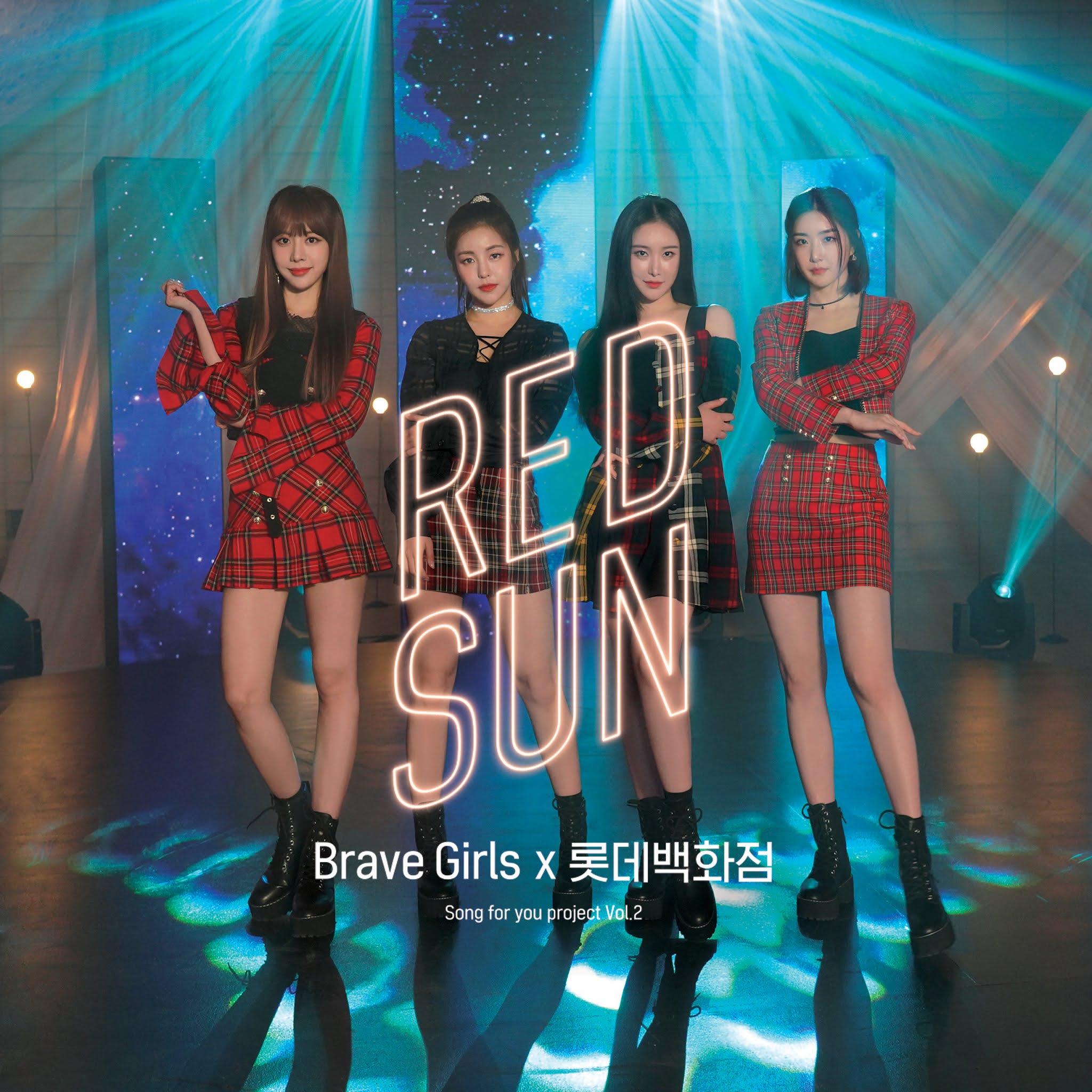 브레이브걸스 - Song for you project Vol.2 : RED SUN