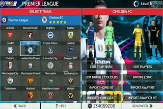 Download FTS Mod FIFA 20 EA Sports Apk Data Obb for Android