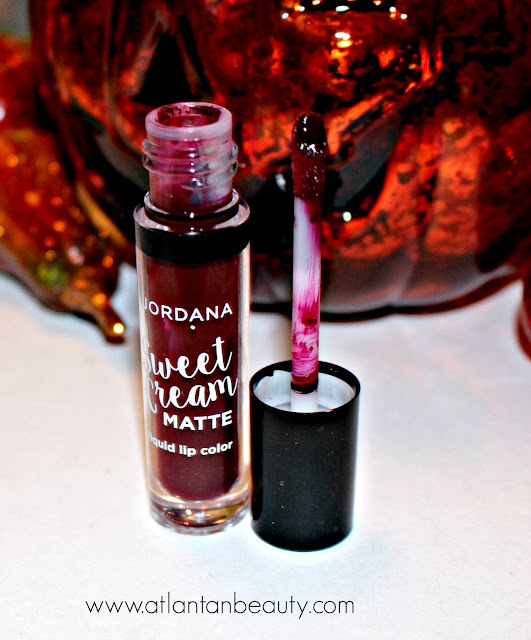Jordana Sweet Cream Matte Liquid Lip Color in Vampy Vixen