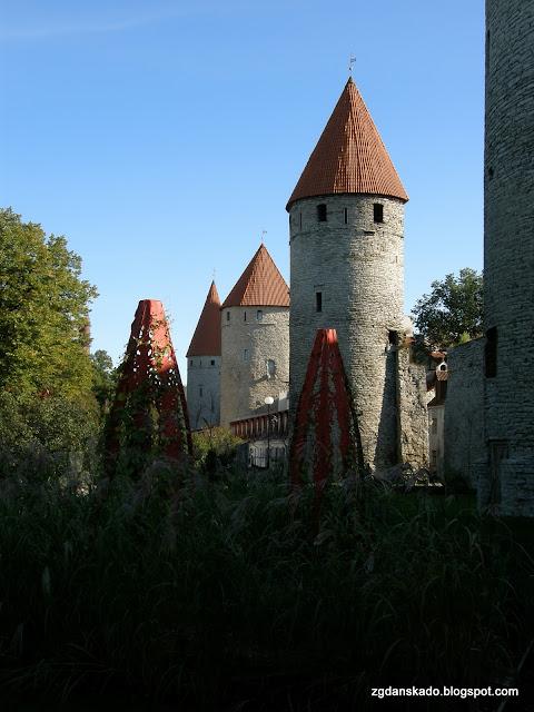 Tallinn - mury miejskie