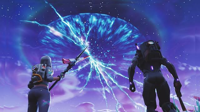 شاهد بالصور خريطة لعبة Fortnite تتغير بشكل غريب و أحداث قوية قادمة …