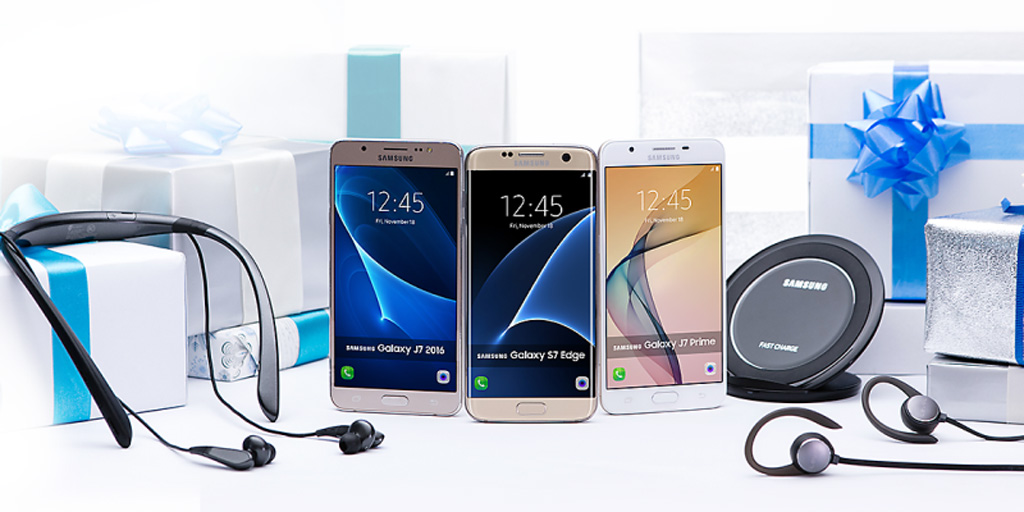 Best Smartphone Deals from Samsung Christmas Giveaways