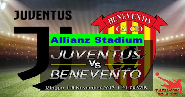 Juventus vs Benevento 5 November 2017