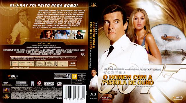 Capa Blu-ray 007 Contra o Homem com a Pistola de Ouro