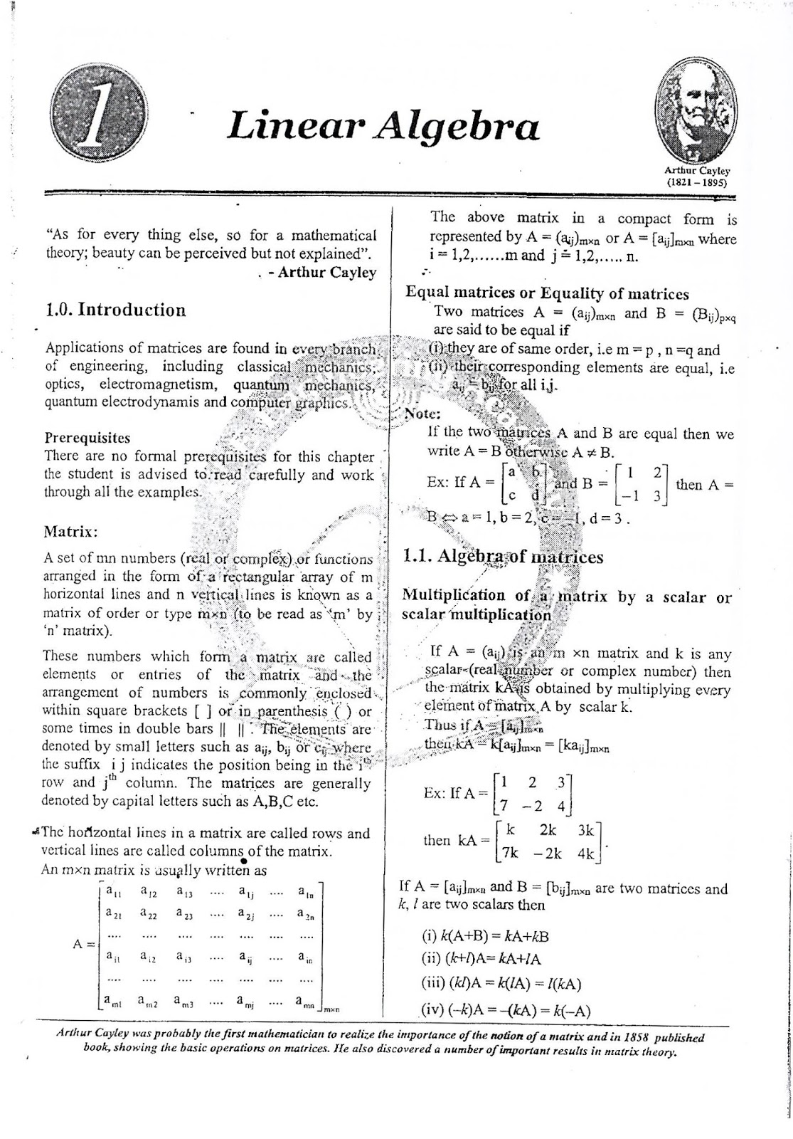 Engineering Mathematics Part 1 Ace Academy Gate Ies Psus