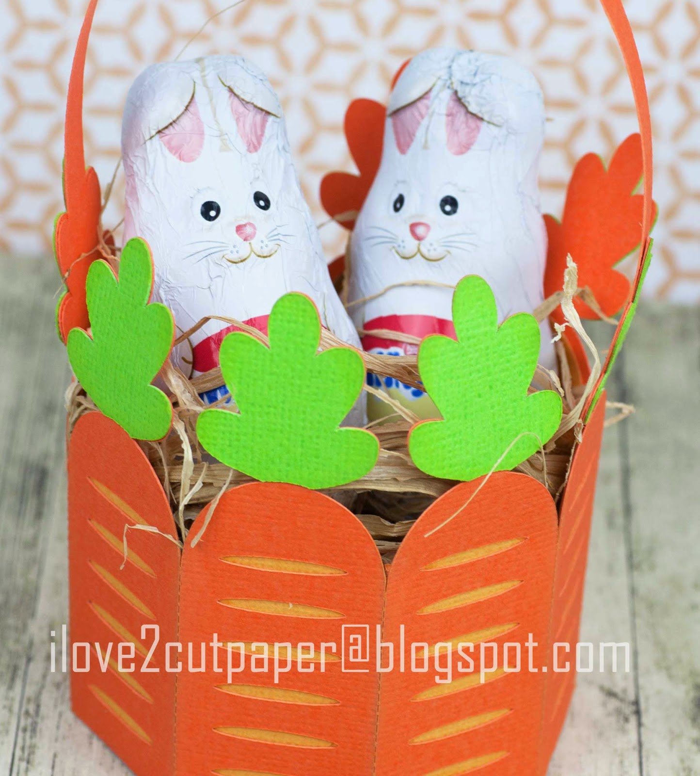Carrot Patch Gift Bag using svg cutting files