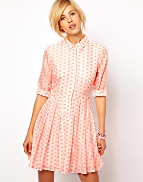 Pink Asos Tea Dress