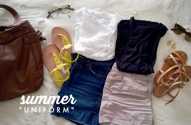 Minimal Wardrobe | Summer Uniform