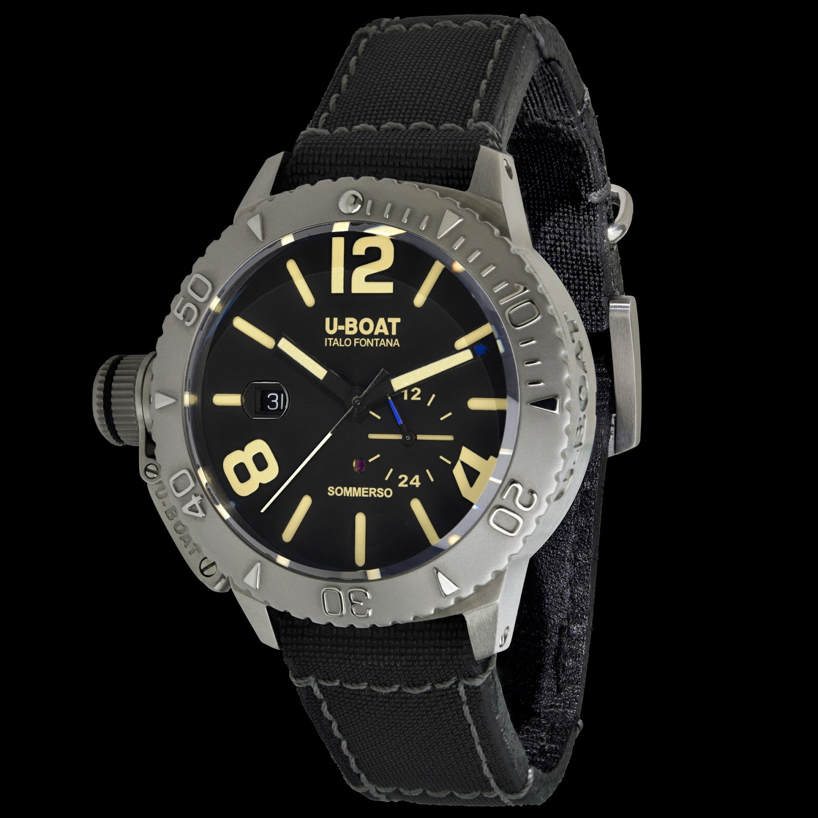 u boat sommerso  OceanicTime: U-BOAT Sommerso 300M
