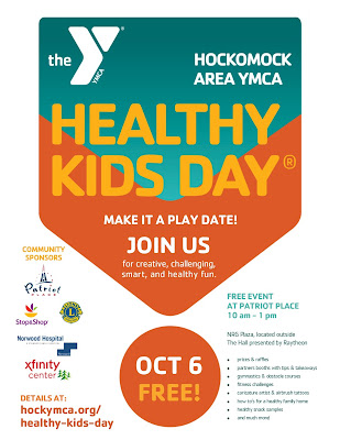 Healthy Kids Day Free Community Event Oct 6
