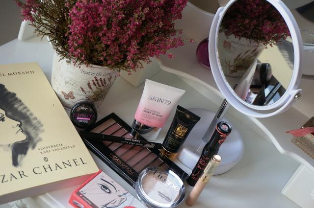 """""""Piękna Jesienią"""" - makijaż, czyli moje ulubione kosmetyki do jesiennego makijażu"""