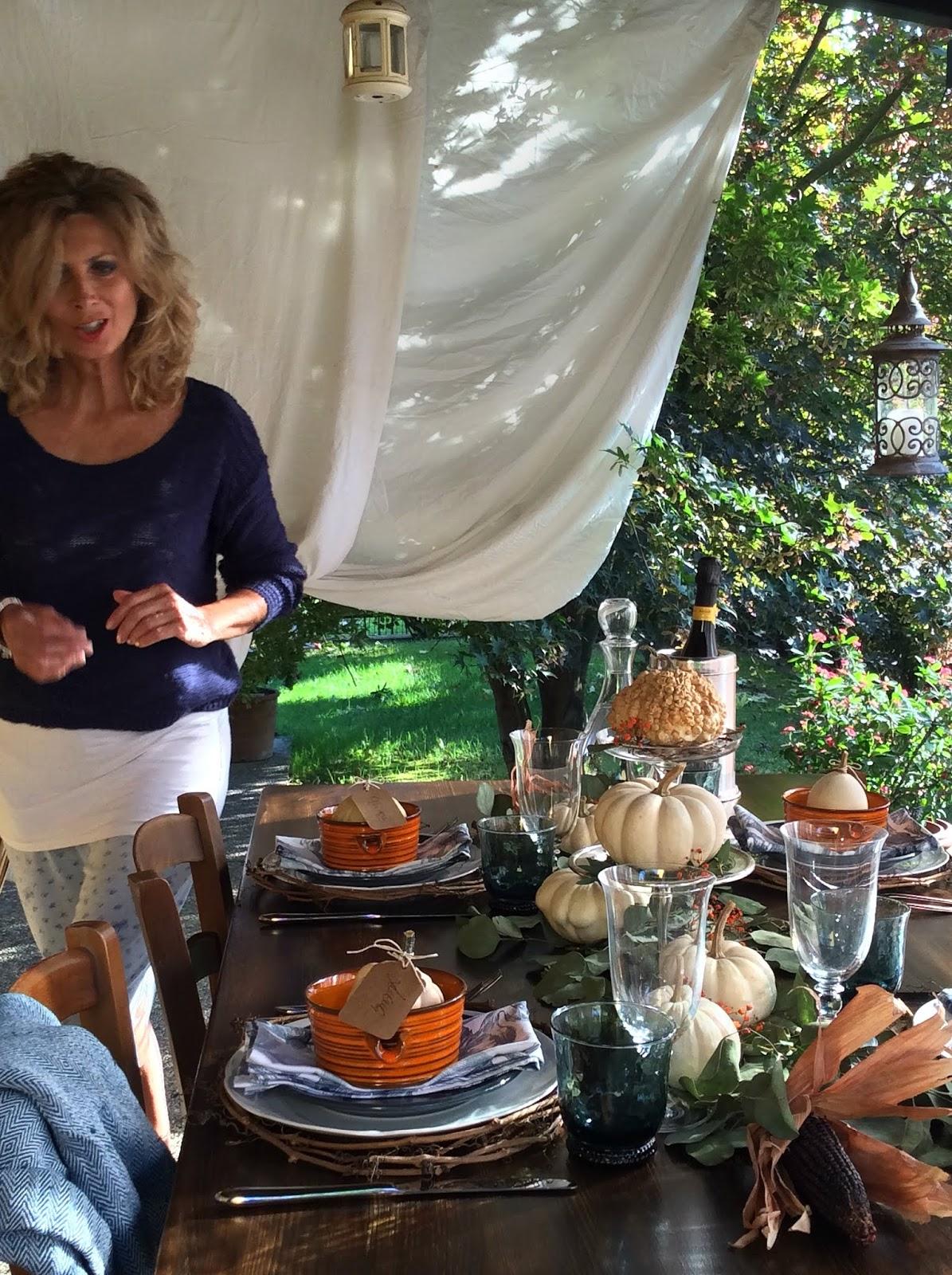 tavola d'autunno