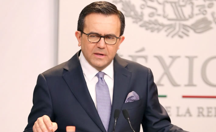 El gobierno de México refrenda que sus acciones continuarán apegándose al estado de derecho comercial internacional. (Foto: SE)