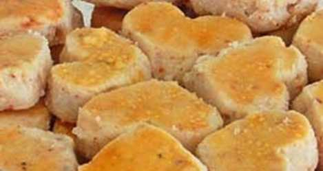 Gambar cara membuat kue kering balut kacang paling enak