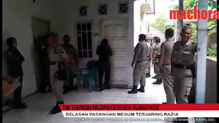 VIDEO: Tim Terpadu Gerebek Rumah Kos di Palopo