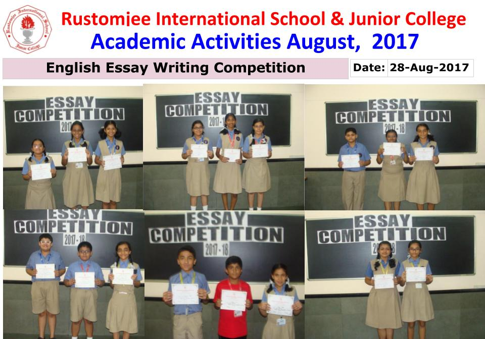english essay competitions This award is for the best undergraduate essays dealing with medieval or 20th century british literature, commonwealth or global literature in english, world literature in english translation, or literary or cultural theory.