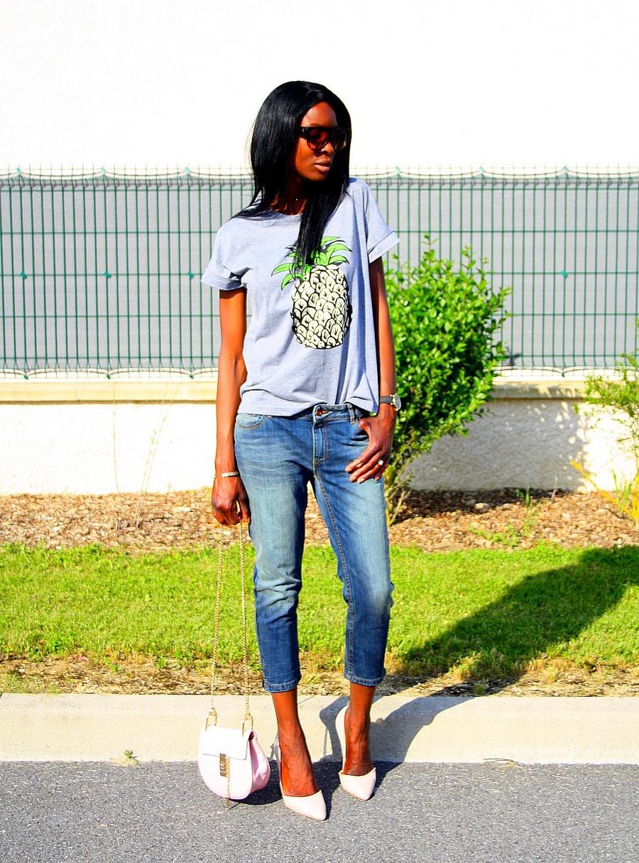 chloe-drew-bag-style-ananas-tee-celine-sunglasses-boyfriend-jeans-nude-pumps-stylesbyassitan
