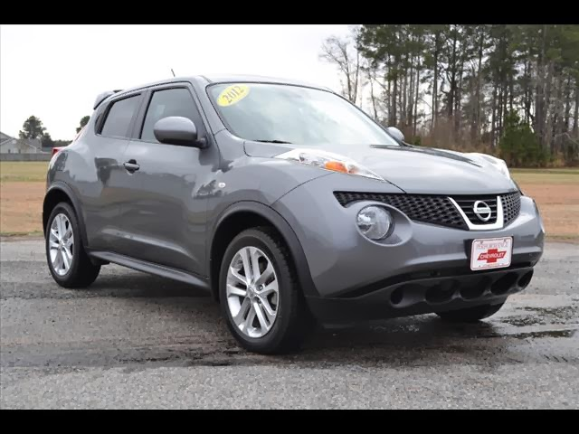 perry auto group used cars greenville nc 2012 nissan juke sv fwd. Black Bedroom Furniture Sets. Home Design Ideas