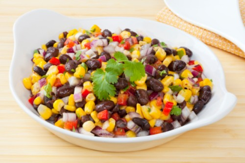 How to Make Corn and Black Bean Salad