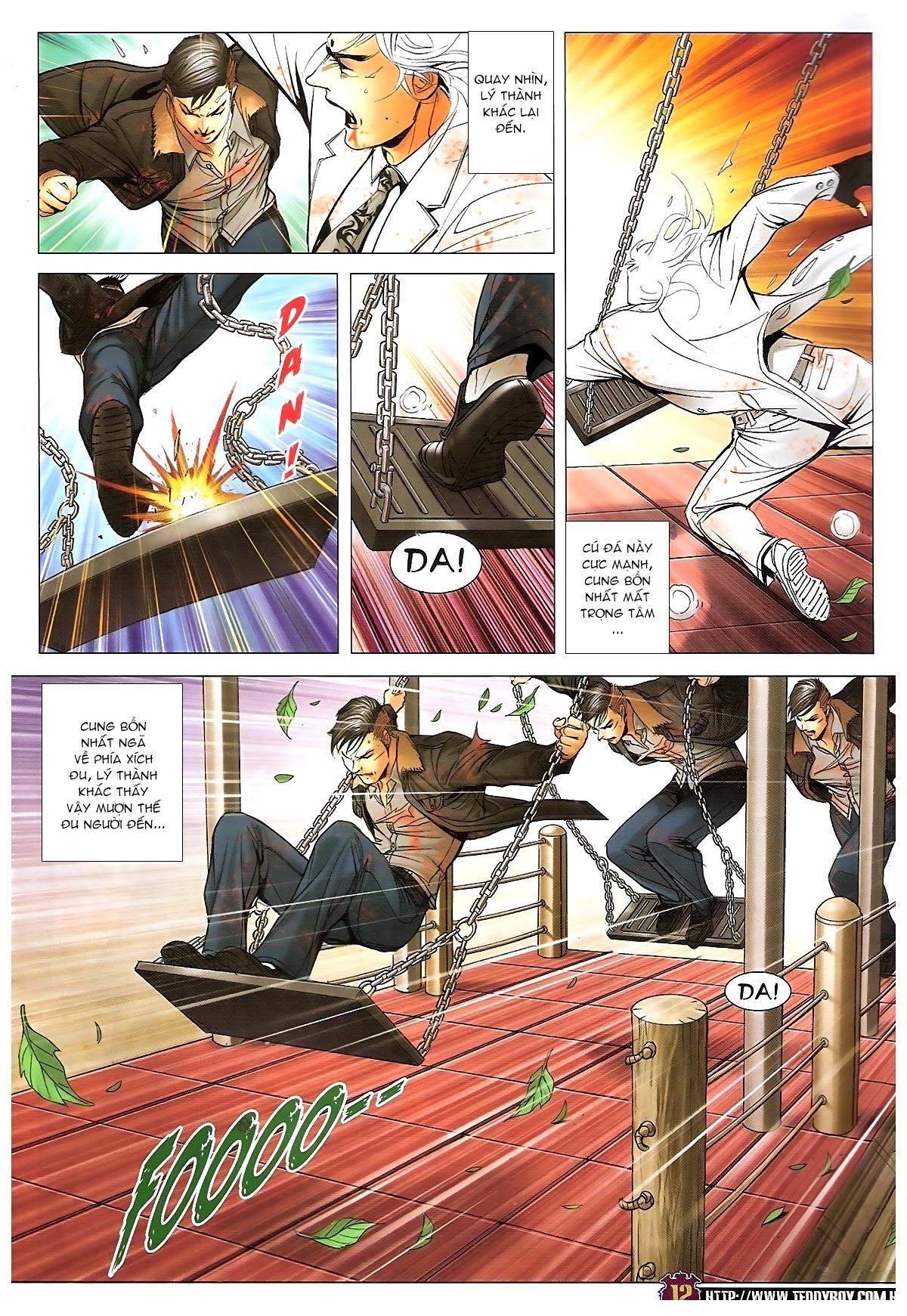Người Trong Giang Hồ chapter 1677: sát thủ trang 10